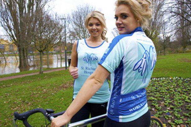 Charity printed cycle running kit